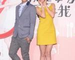 炎亞綸與郭雪芙首次合作演出華劇《就是要你愛上我》,從開始陌生相處,到現在一見如故。(圖/三立提供)