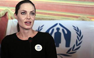 安吉丽娜.朱莉探访叙利亚难民 吁国际关注