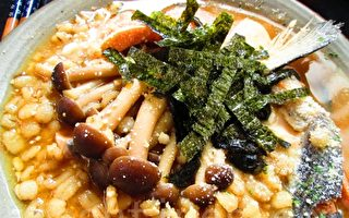 味噌鲑鱼燕麦粥