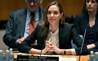 裘莉現身聯合國  反對性暴力