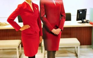 打败9千人 台湾空姐登国际航空看板人物