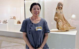 郭素亦漂流木展新貌 雕塑品寓意深远