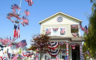 加州圣地亚哥欢庆美国237年国庆