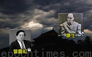 中共中央黨校刊物批康生還不只是影射劉雲山這麼簡單,劉雲山跟康生還不是一個數量級上的代表人物。如果能稱得上「野心家、陰謀家」並跟康生的履歷及在中共的地位極為相似的只有曾慶紅。(大紀元合成圖片)