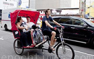 市內三輪車開始使用定時器定價