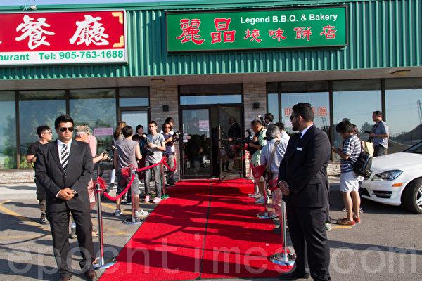 婚宴酒店由陈豪岳父经营。(摄影:艾文/大纪元)