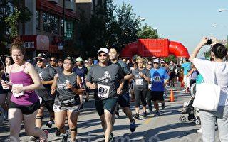 芝加哥唐人街五公里賽跑  800選手創近年之最