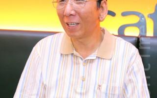 汉城华侨协会首席副会长王文荣。(全宇/大纪元)