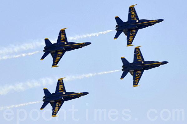 圣地亚哥航空飞行秀十月初举行