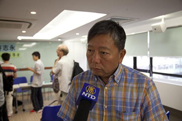 立法会议员李卓人(摄影:余钢/大纪元)