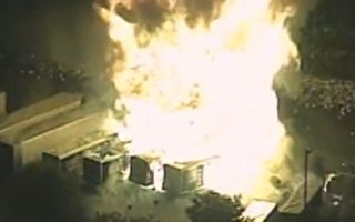 美佛州丙烷工厂连环爆 遭巨大火球吞噬