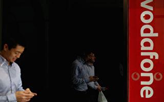 Vodafone漫遊英美新每天5澳元封頂