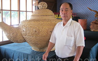 國寶級篾竹編工藝再現虎尾