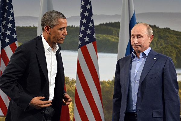 不滿俄庇護斯諾登 奧巴馬取消與普京會晤