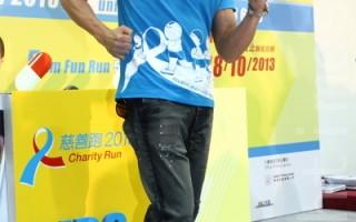 郭富城任愛心大使  關注愛滋病童