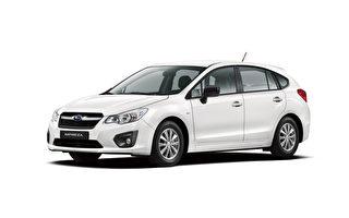 Subaru Impreza第4代在台现身。(subaru提供)