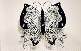 组图: 纸艺术展 寓教于乐
