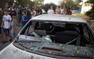 黎巴嫩发射火箭攻击以色列 以方报复