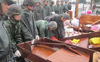 虎尾降雨量全国第一 国军协助灾后复建