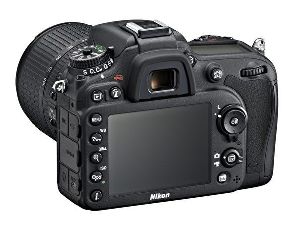 Nikon D7100有3.2英寸LCD萤幕,122.9万画素。(图:国祥贸易提供)