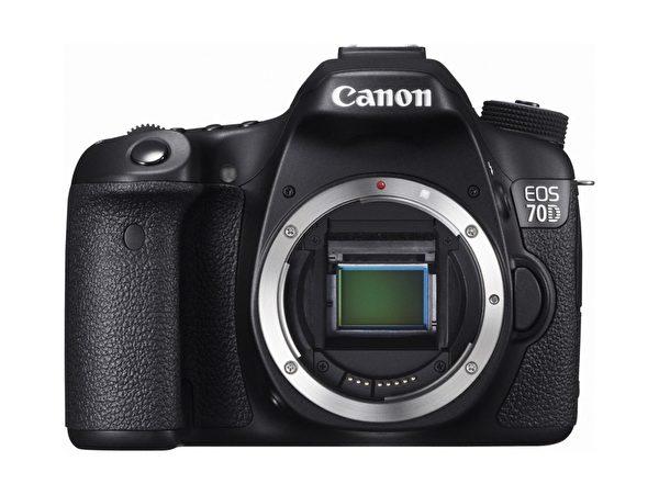 EOS 70D是Canon第一台采双像素CMOS自动对焦系统的相机。(图:Canon提供)