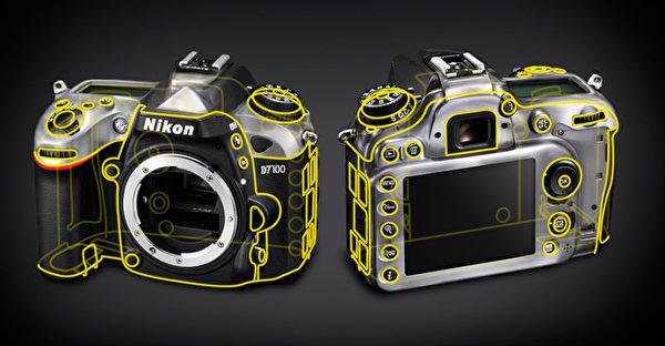 Nikon D7100有51个对焦点。(图:国祥贸易提供)
