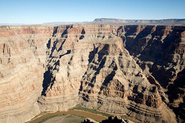 美国亚利桑那州大峡谷是世界七大奇观之一(Photo by Ethan Miller/Getty Images)