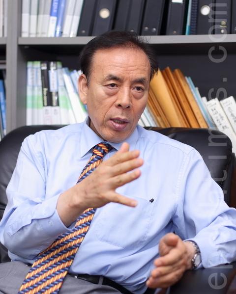 韓國貴金屬寶石團體長協議會會長鄭元憲。(全宇/大紀元)