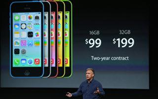 iPhone 5c 周五开始预售 沃尔玛降价20%