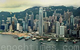 中國動盪夾縫中求商機 香港金融中心屹立