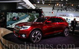 2013法蘭克福國際汽車展IAA上SUV家族的新星