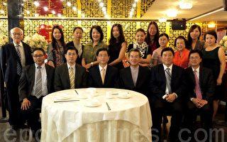 慶記者節 台北辦事處與華文媒體餐敘