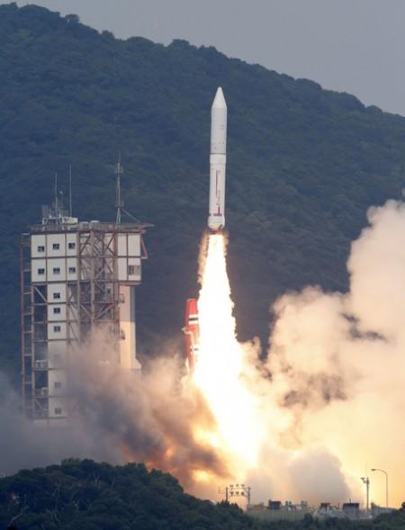 笔电协助 日本新一代火箭升空