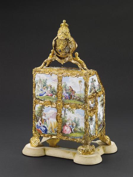 喬治三世鍍金琺瑯盒之二。(頑石創意提供)