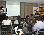 2013中國十大銀行業績分析會。(余鋼/大紀元)