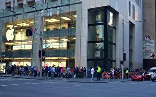 新iPhone澳洲首发 悉尼华男购全球首部 iPhone5s