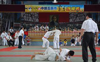 中部5縣市柔道錦標賽 西螺舉行