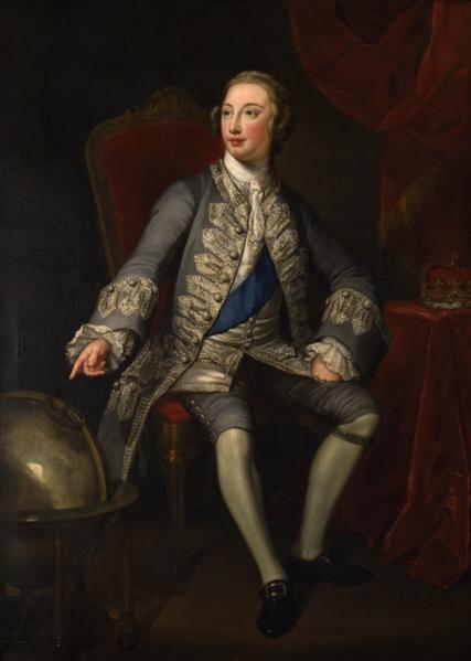 英皇喬治三世畫像。(頑石創意提供)
