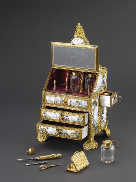 喬治三世鍍金琺瑯盒之三。(頑石創意提供)