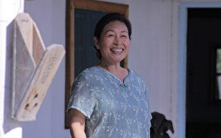 在《阿婆的夏令營》飾演阿婆一角,丁也恬入圍女主角獎。(客家台提供)