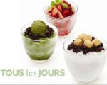 水果、紅豆刨冰(Tous Les Jours 提供)