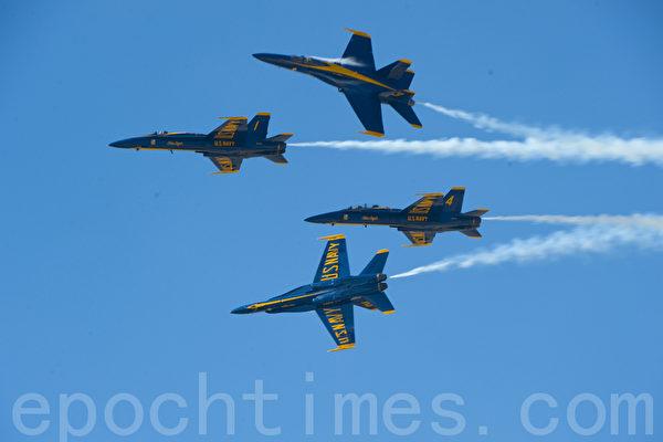 蓝天使明年将重返旧金山舰队周