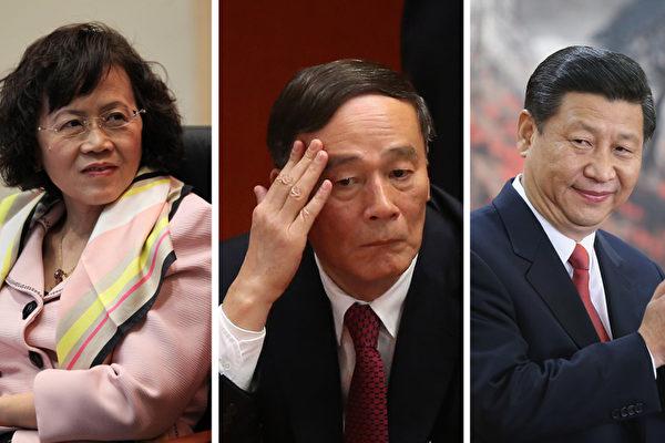 「中國最危險女人」的背後站著兩個最有權勢的男人