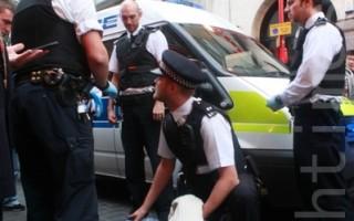 暴徒再襲倫敦唐人街三退點 被抓獲送警