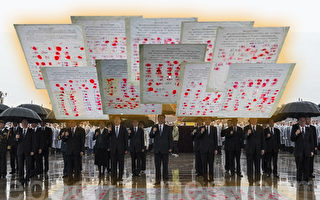 真相深入人心 河北千人手印进京营救法轮功学员