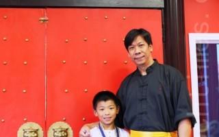 【專訪】:「少林功夫」傳人新唐人武術大賽獲獎