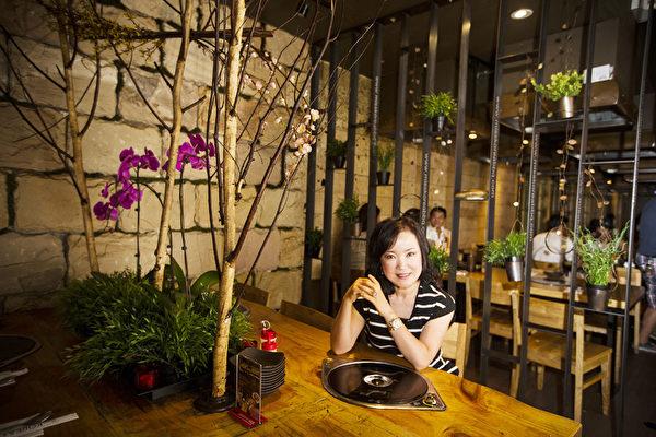 miss Korea的社長、紐約韓國飲食達人李善慧女士(攝影:愛德華/大紀元)