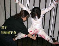 徐真遭重慶女子勞教所灌水 牙刷亂戳下身致死