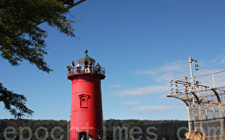 曼哈顿岛唯一灯塔开放