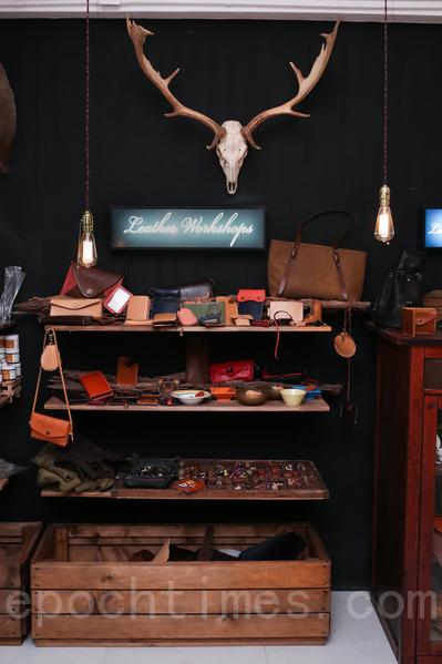 創業之路:港產皮革工作室